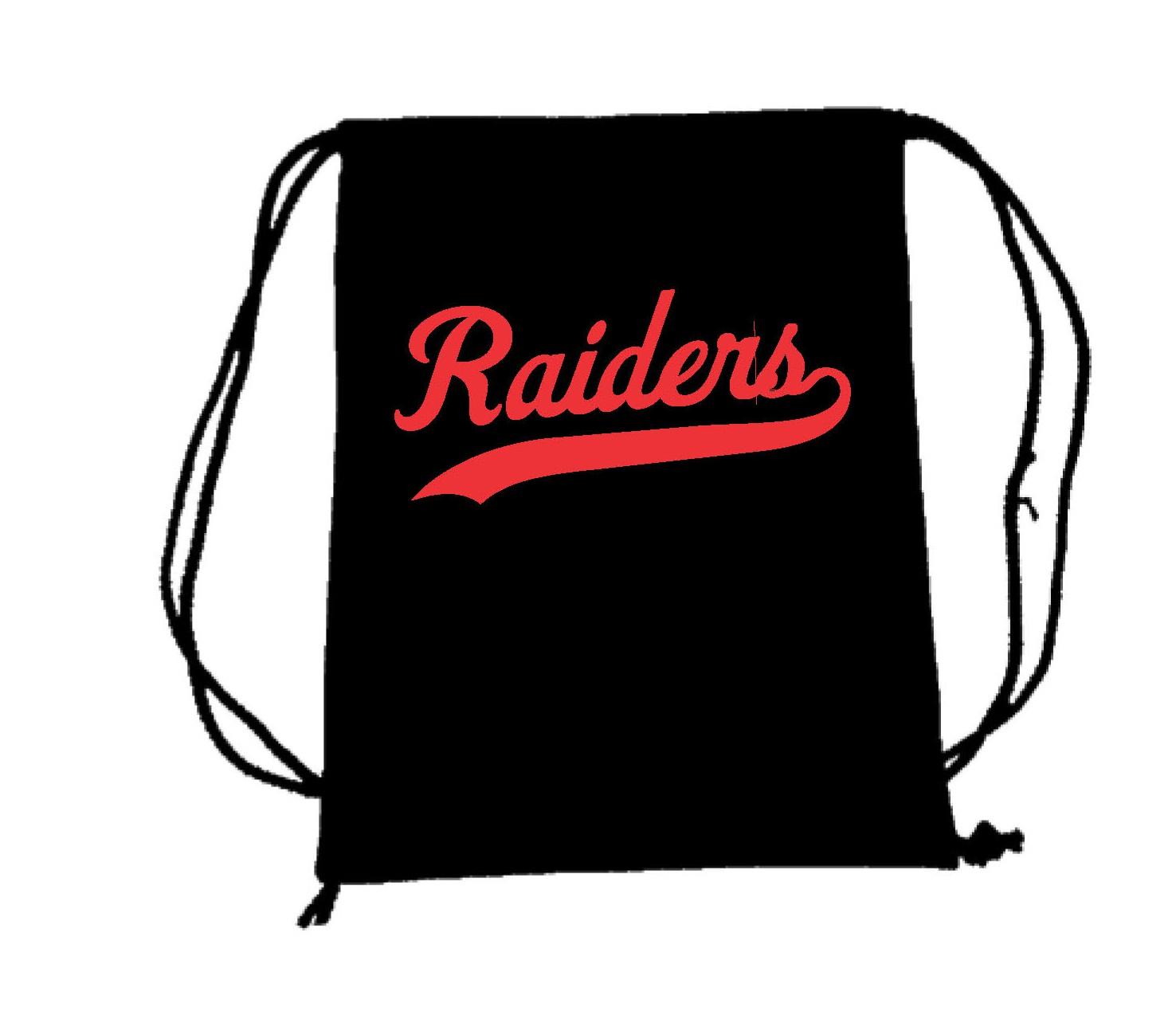 Raiders Drawstring Backpacks