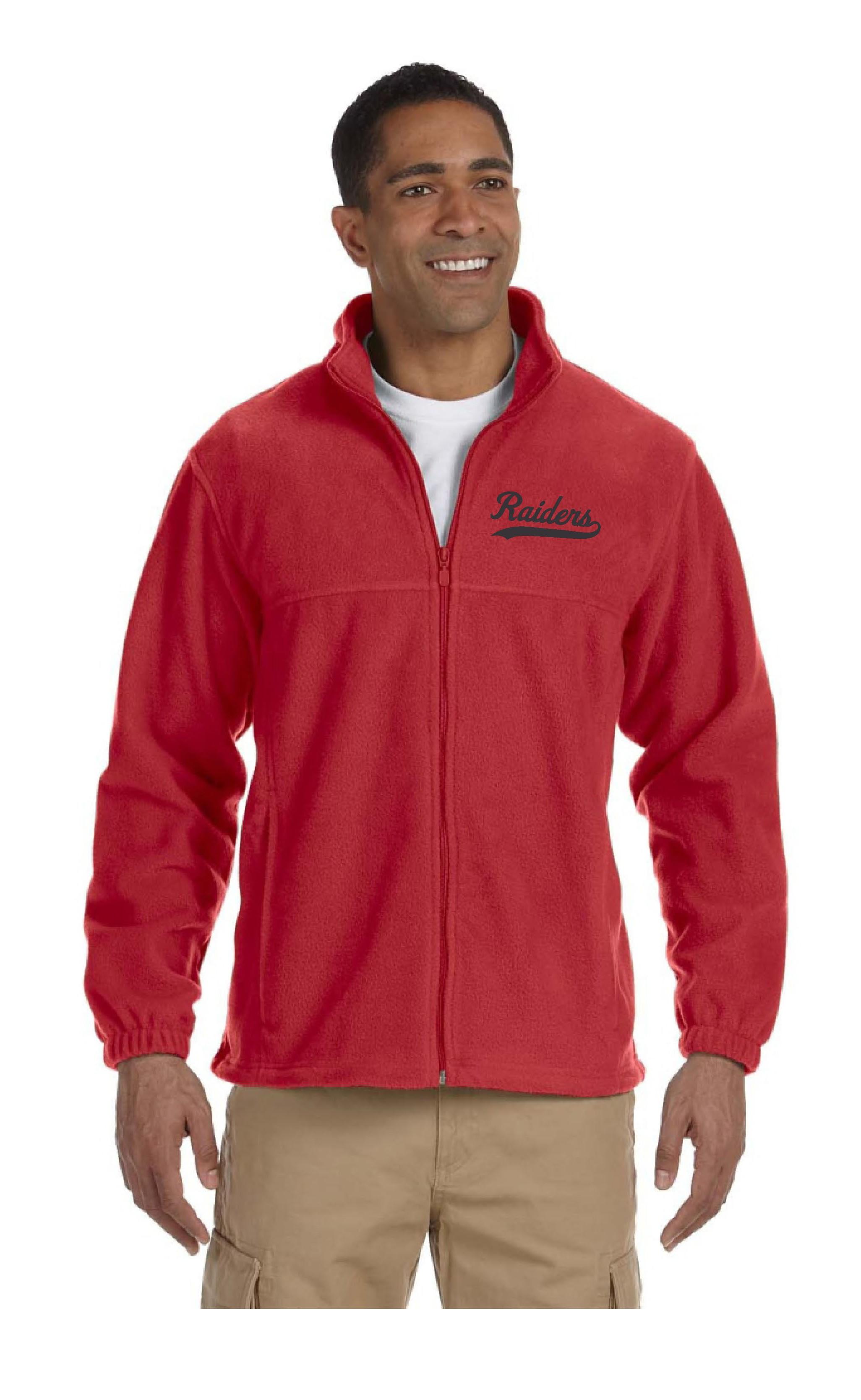 Raiders 8oz Full Zip Fleece Jacket