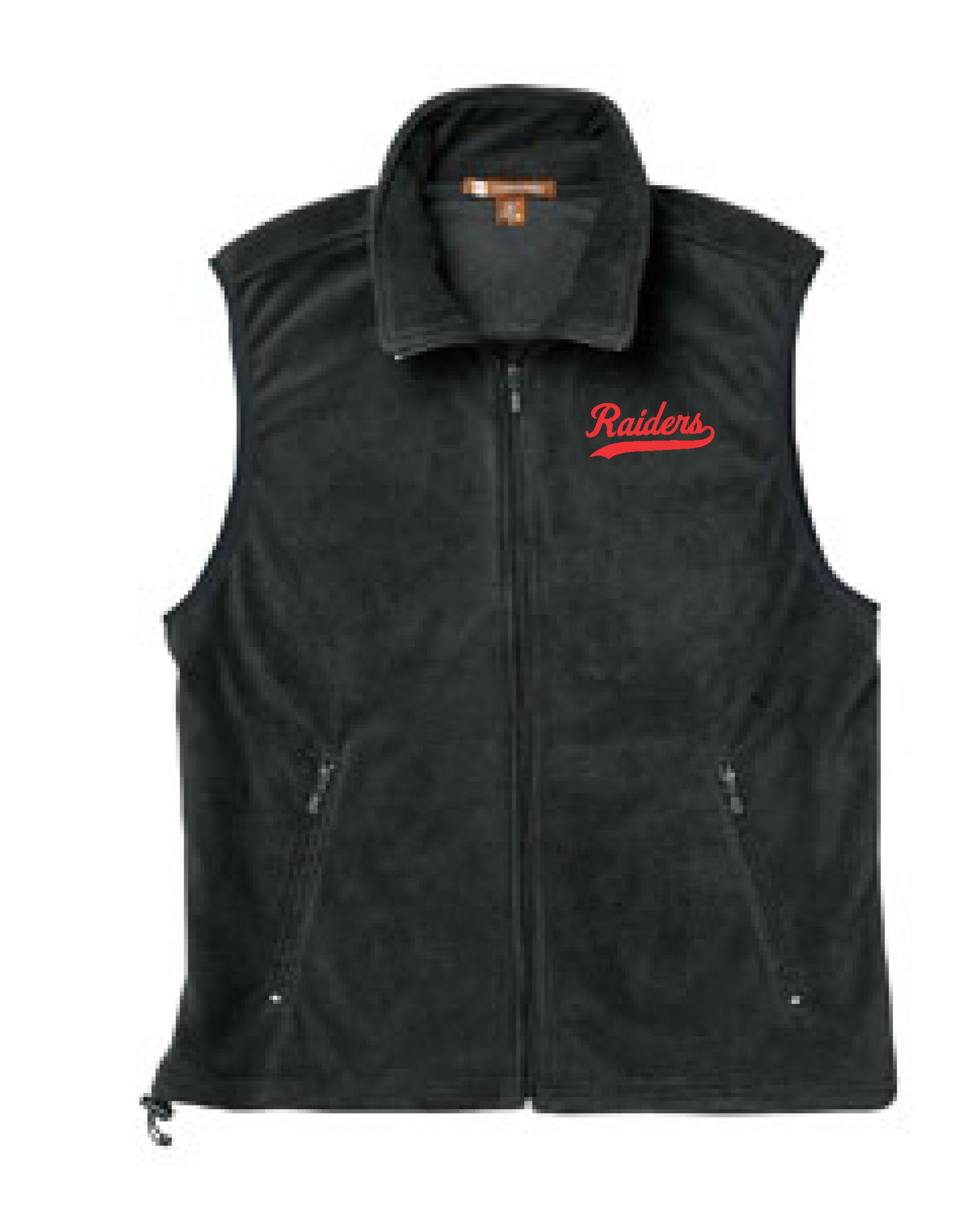 Raiders Full Zip Fleece Vest
