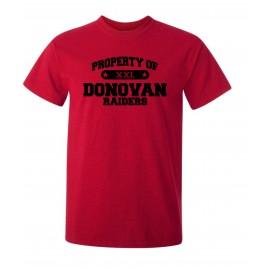 Property Of Donovan Bella Canvas Tee