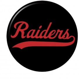 Raiders Round Key Chains