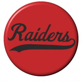 Raiders Round Magnets