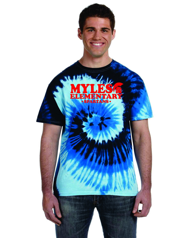 Myles Elementary Tye Dye T-Shirt