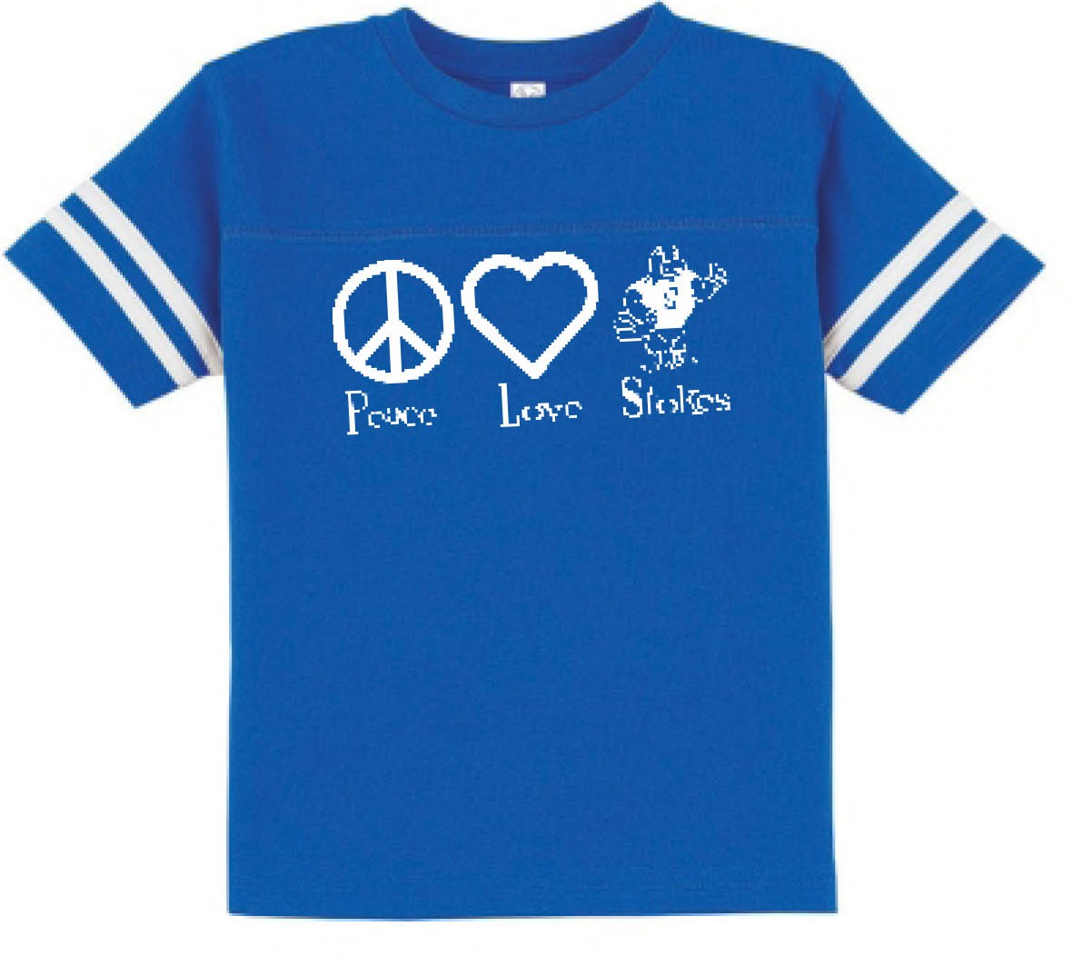 Stokes Peace & Love Two Stripe Jerseys