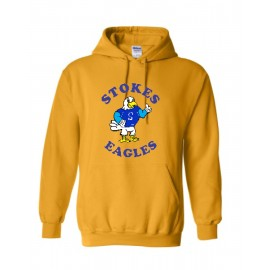 Stokes Eagles Pullover Hoodies