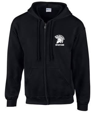 New Hartford Spartans Full Zip Hoodie