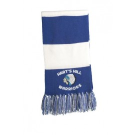 Hart's Hill Embroidered Spectator Scarf