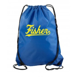 Fisher Elementary Drawstring Backpack