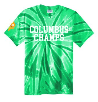 Columbus Champs Tye Dye Tee