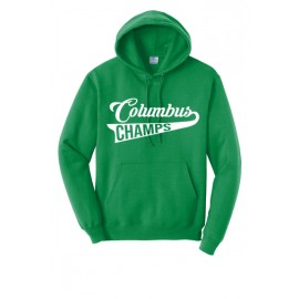 Columbus Swoosh Bella Canvas Pullover Hoodies