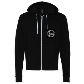 Bella + Canvas - Unisex Full-Zip  Hooded Sweatshirt