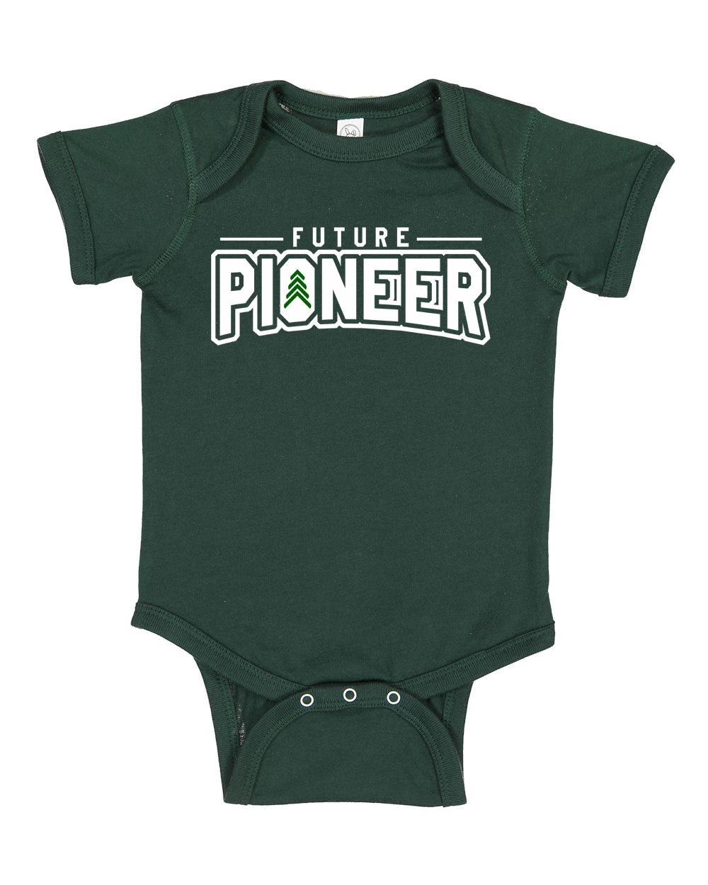 Future Pioneer Rabbit Skins Infant Baby  Bodysuit