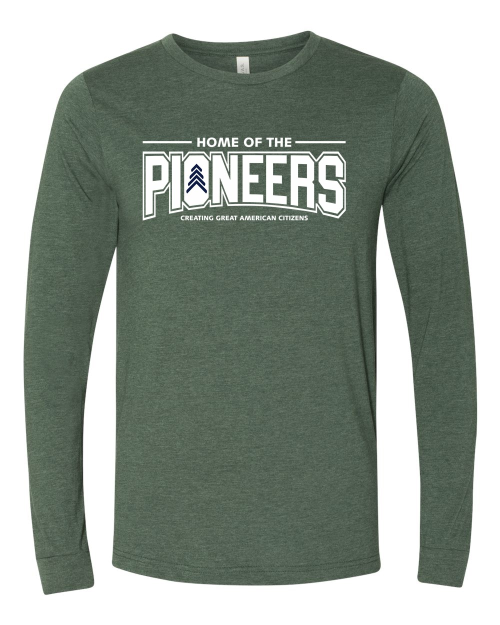 Pioneers Adult Soft Spun Cotton Long Sleeve Tees
