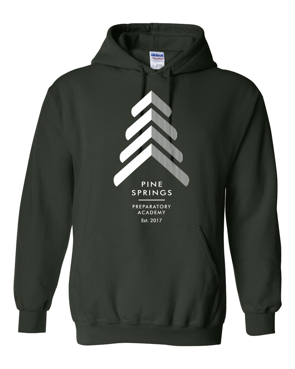 Pine Springs 50/50 Poly/Cotton Mix Pullover Hoodies