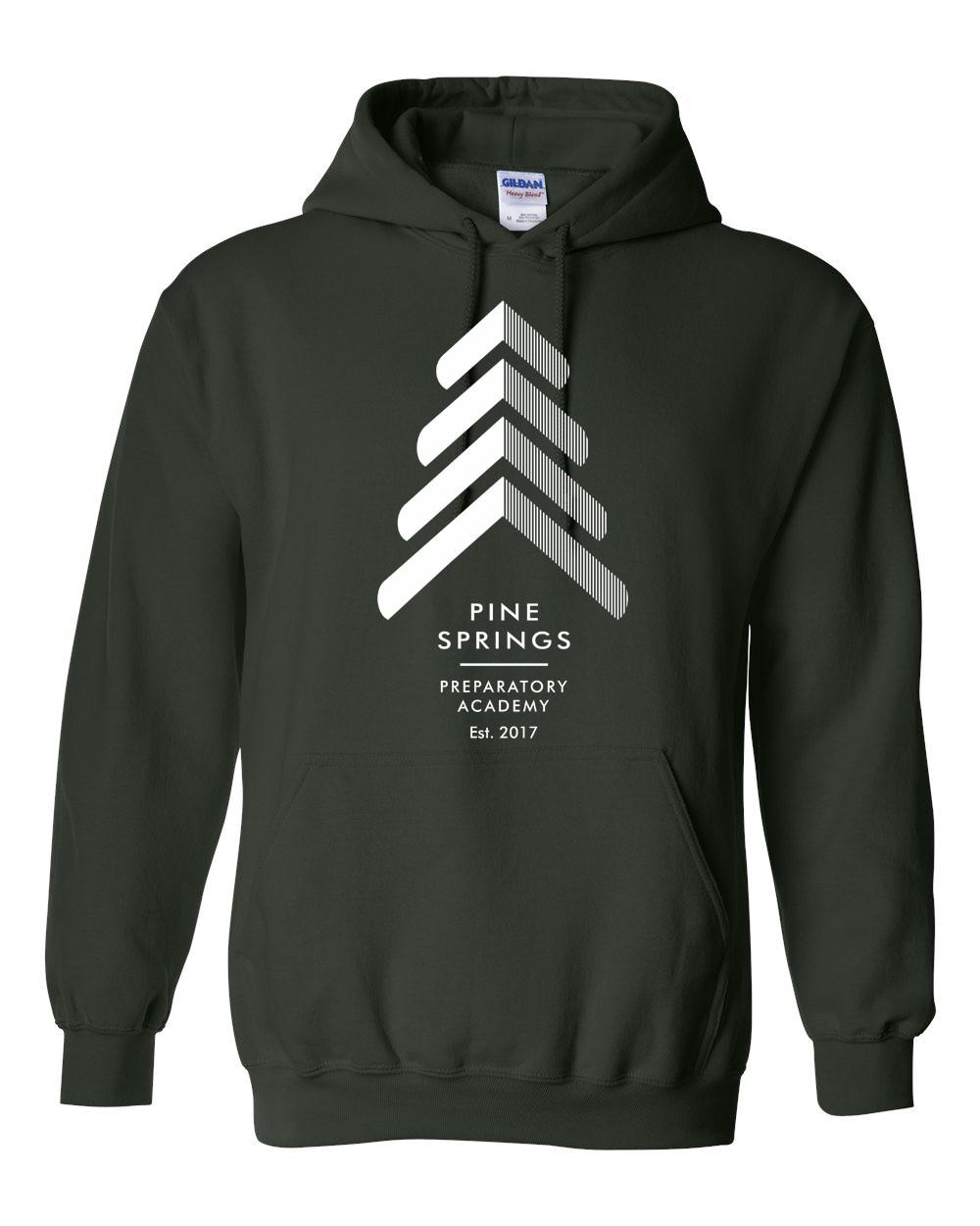 Pine Springs Moisture-Wicking Pullover Hoodies