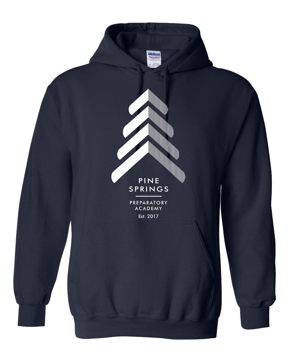 Pine Springs Soft Spun Cotton Pullover Hoodies
