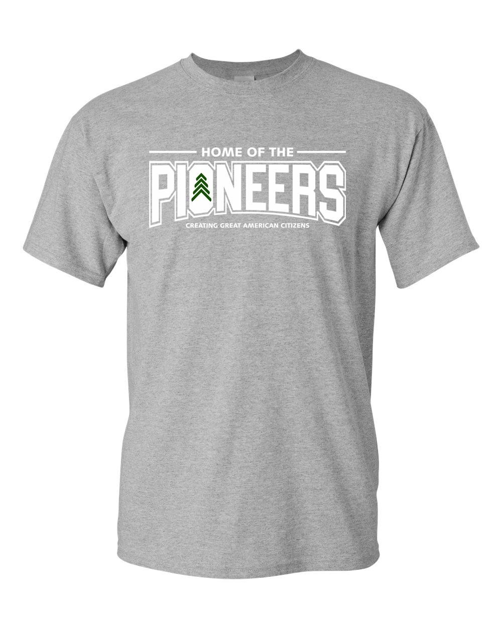Pioneers 100% Pre-Shrunk Cotton Tees