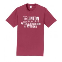 Clinton Physical Education Tees Only - Boys and Men's