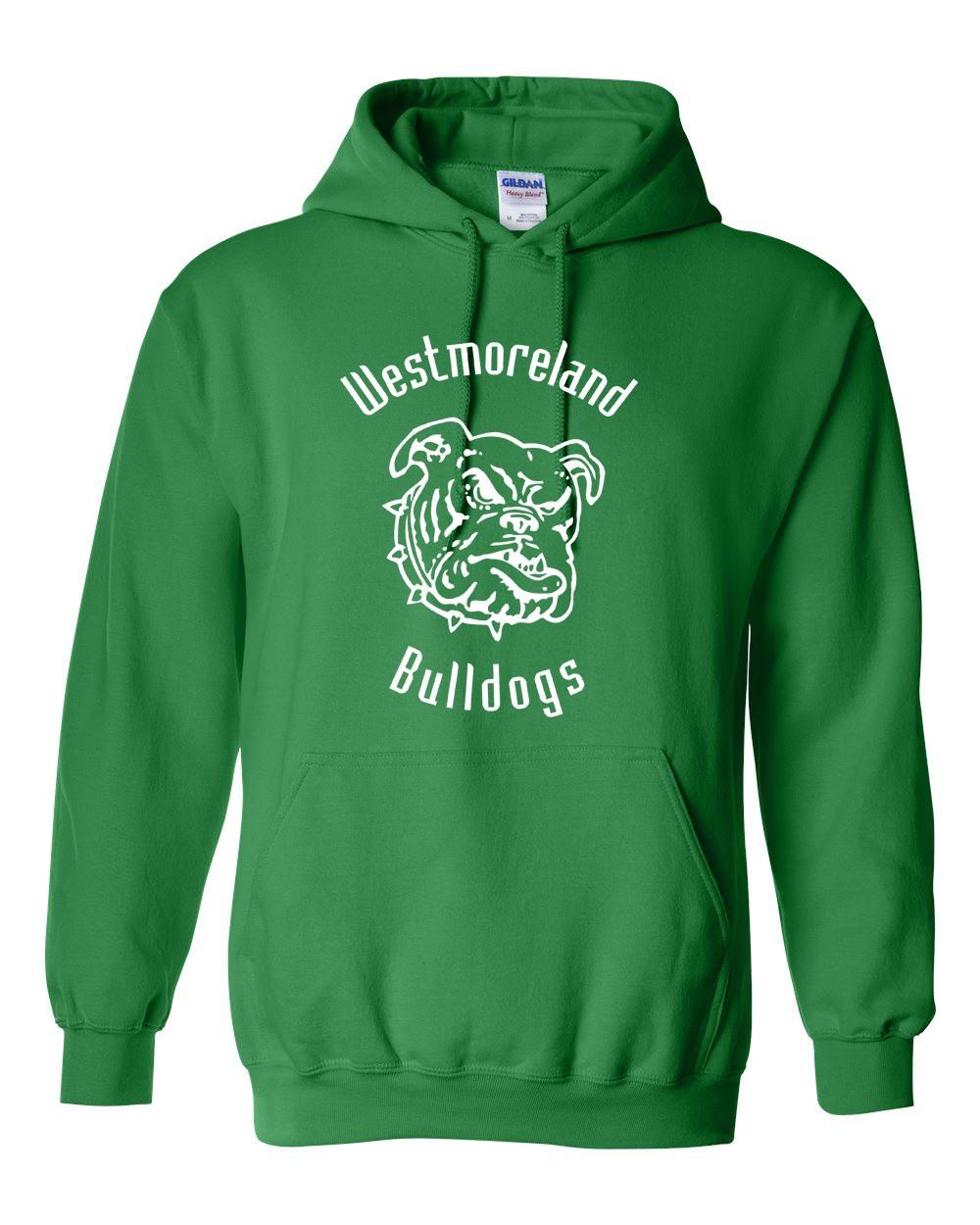 Gildan Westmoreland Bulldog Pullover Hoodie