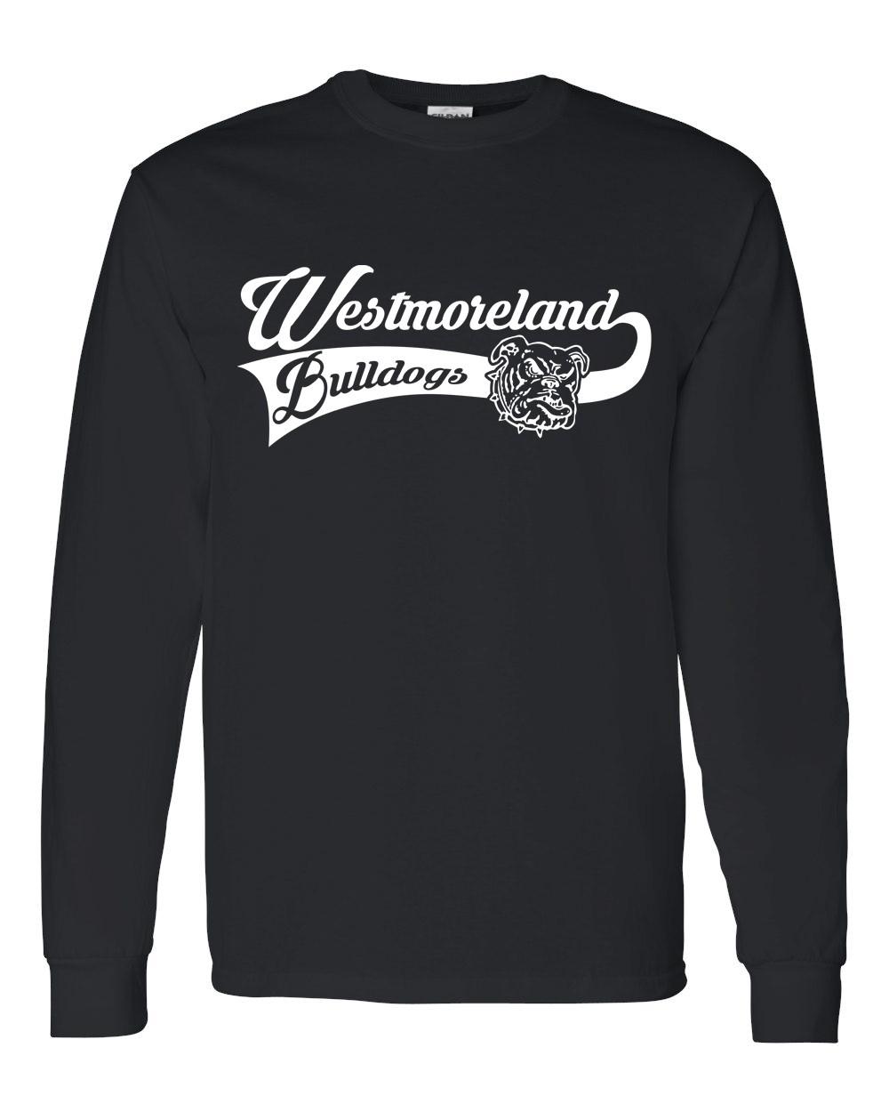 Gildan Westmoreland Swoosh Long Sleeve Tees