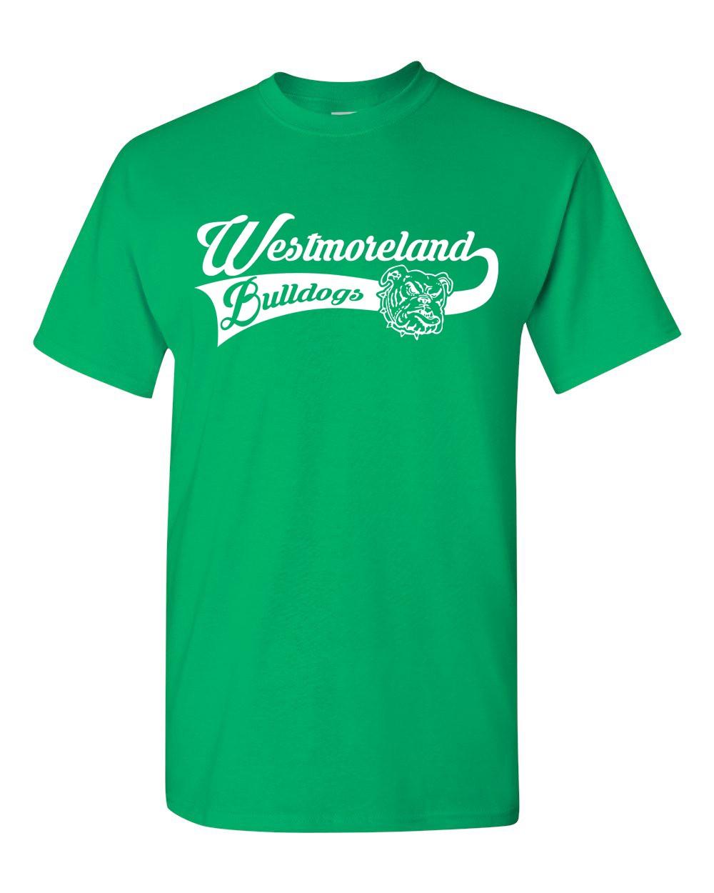 Gildan Westmoreland Swoosh Logo Tees