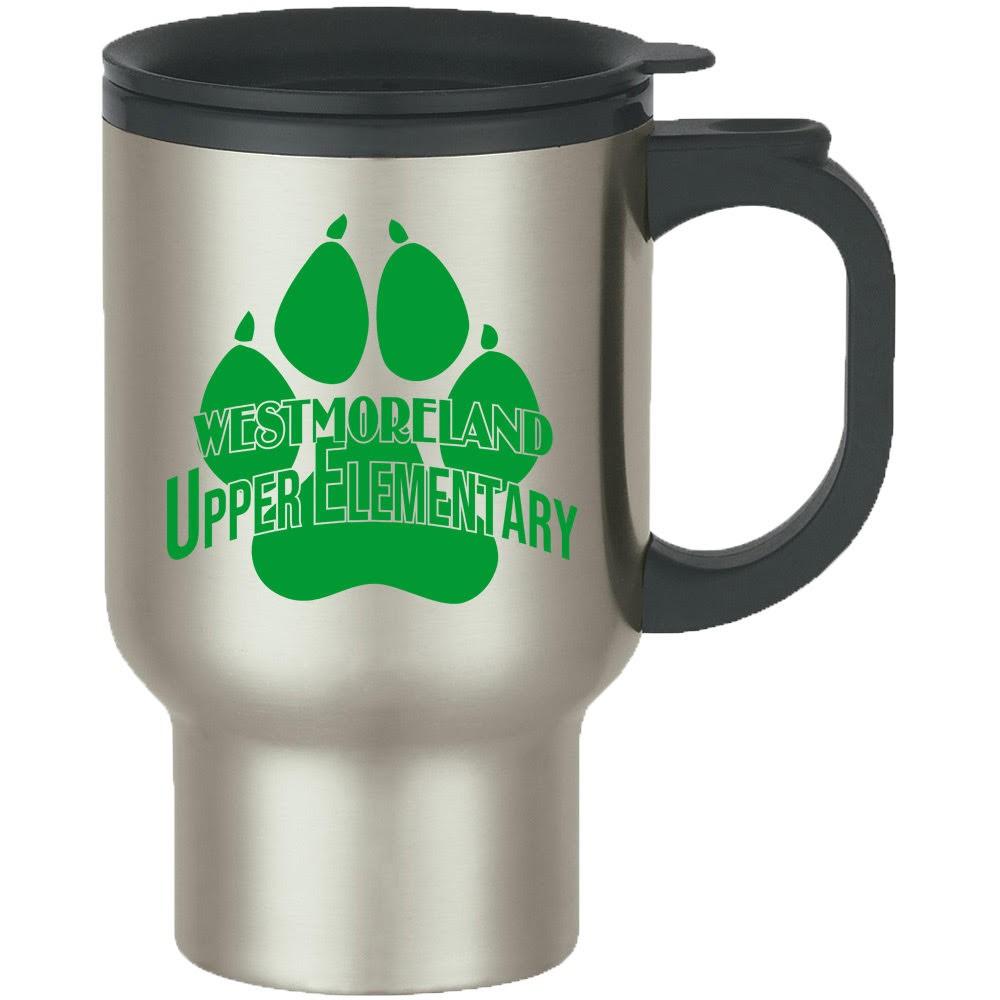 Stainless Steel Travel Mug - Upper Elem Logo