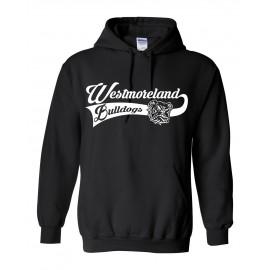 Gildan Westmoreland Swoosh Logo Pullover Hoodie