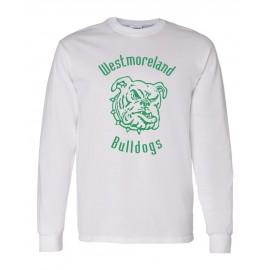 Gildan Westmoreland Bulldog Long Sleeve Tees