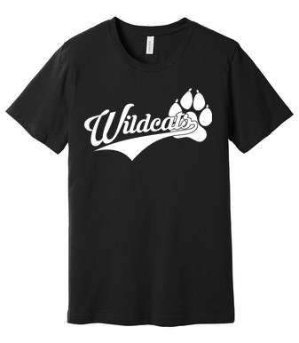 BELLA+CANVAS ® Unisex Jersey Short Sleeve Tee - Wildcats Logo
