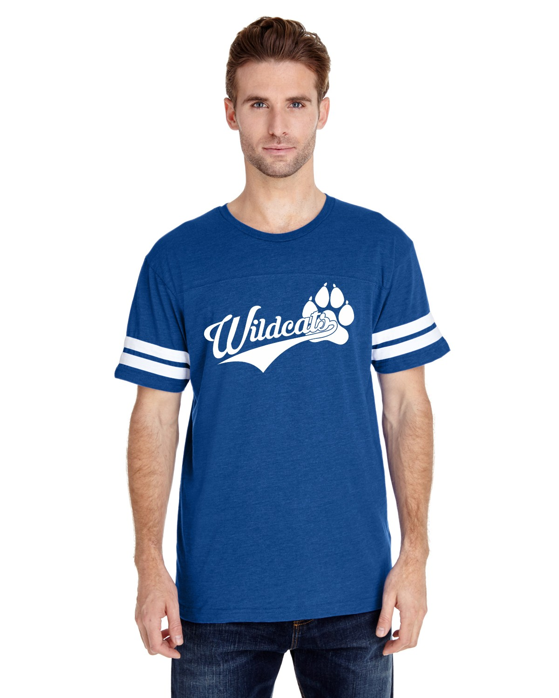 Two Stripe Football Jersey - Wildcats Logo