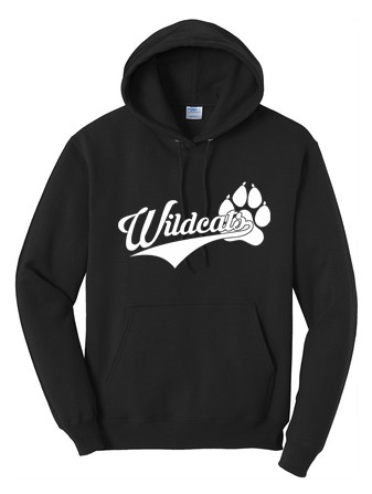 Port & Company® - Core Fleece Pullover Hooded Sweatshirt - Wildcats Logo