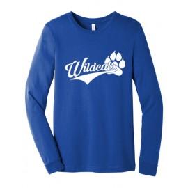 Bella + Canvas Unisex Jersey Long-Sleeve T-Shirt - Wildcats Logo