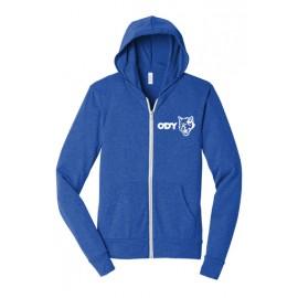 BELLA+CANVAS ® Unisex Sponge Fleece Full-Zip Hoodie