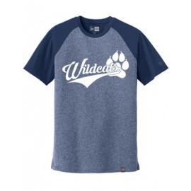 New Era® Heritage Blend Varsity Tee - Wildcats Logo