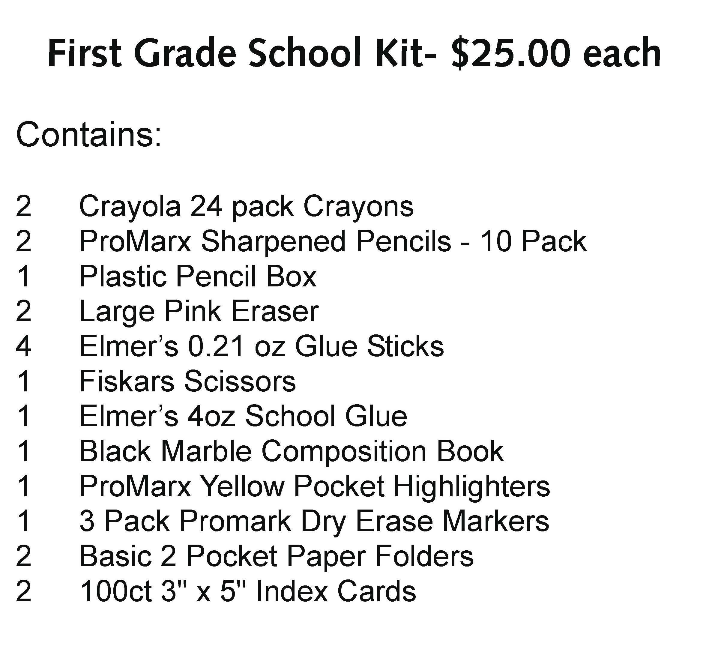 General Herkimer 1st Grade Kit