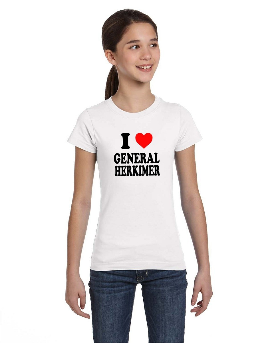I Love General Herkimer Tees