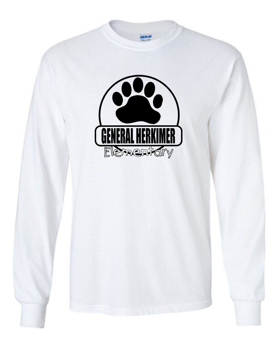 General Herkimer Paw Long Sleeve Tee