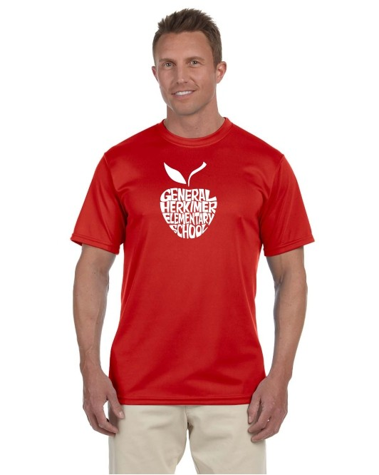 General Herkimer Apple Moisture Wicking Tees