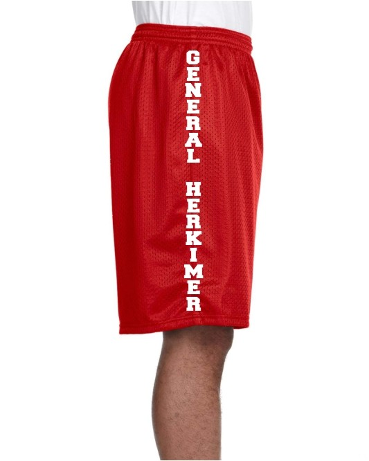 General Herkimer Lined Tricot Mesh Shorts