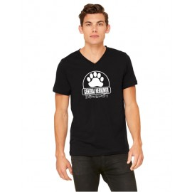 General Herkimer Paw 100% Cotton V-Neck Tees