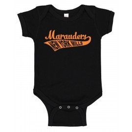 Rabbit Skins Infant Baby Rib Bodysuit - Swoosh Logo