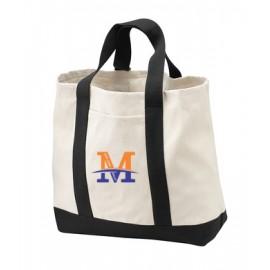 "Port Authority® - Two-Tone Shopping Tote - ""M"" Logo"