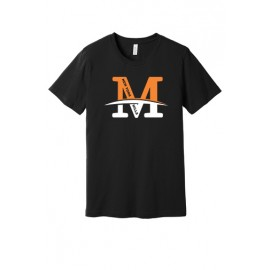 """Port & Company® Mositure-Wicking Performance Tee - """"M"""" Logo"""