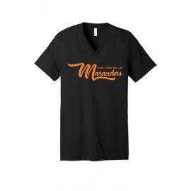BELLA+CANVAS ® Unisex Jersey Short Sleeve V-Neck Tee - Marauders Logo