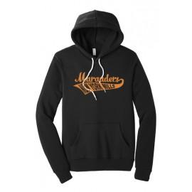 BELLA+CANVAS ® Unisex  Fleece Pullover Hoodie - Swoosh Logo