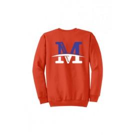 "Gildan® - Heavy Blend™ Crewneck Sweatshirt - ""M"" Logo"