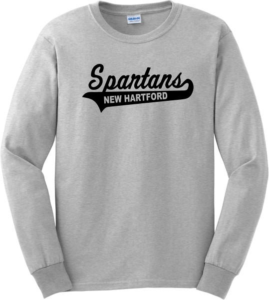 Spartans Swoosh Long Sleeve Tee
