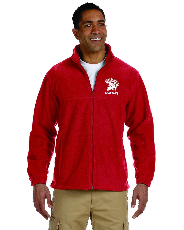New Hartford Spartans Full-Zip Fleece
