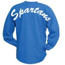 Pennant Billboard Crew Shirt - Spartans Script