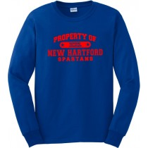Property Of Spartans Long Sleeve Tee